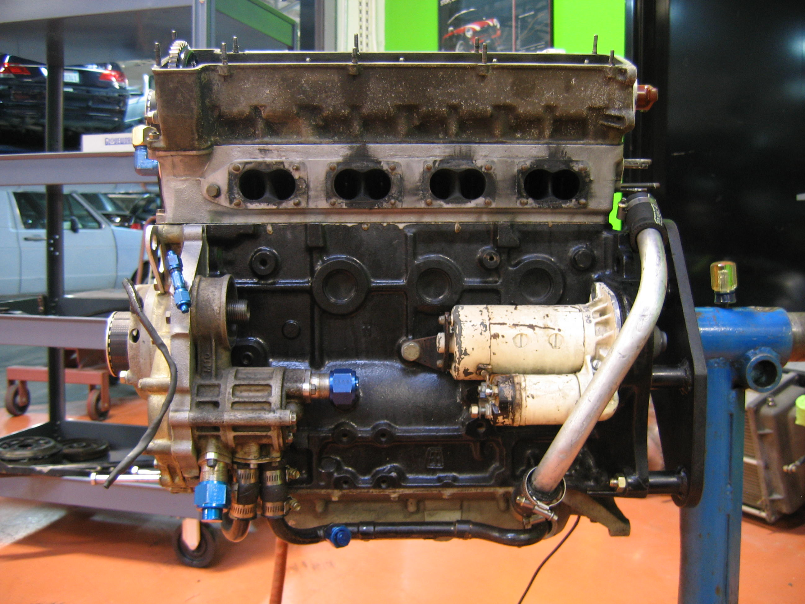 320 turbo engine 007