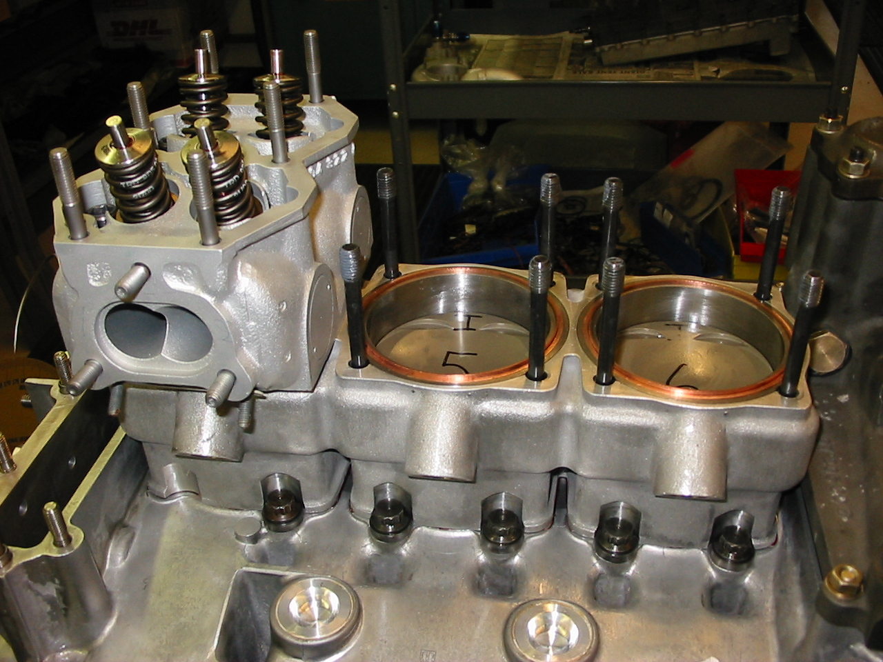 Porsche 962c Race Engine: Part 3 – performancedevelopments com