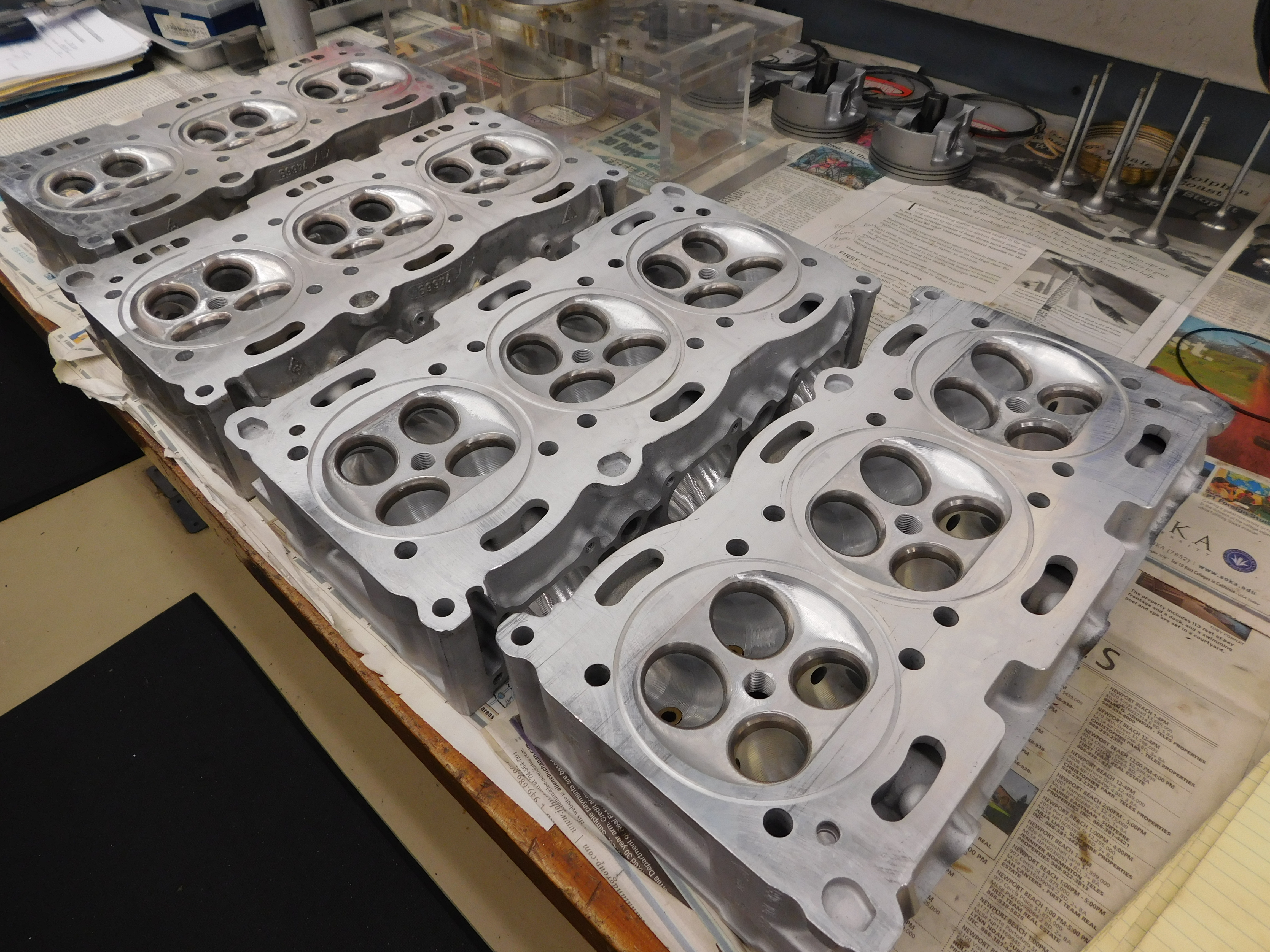 Porsche 996 and 997 Turbo Cylinder Head Sealing
