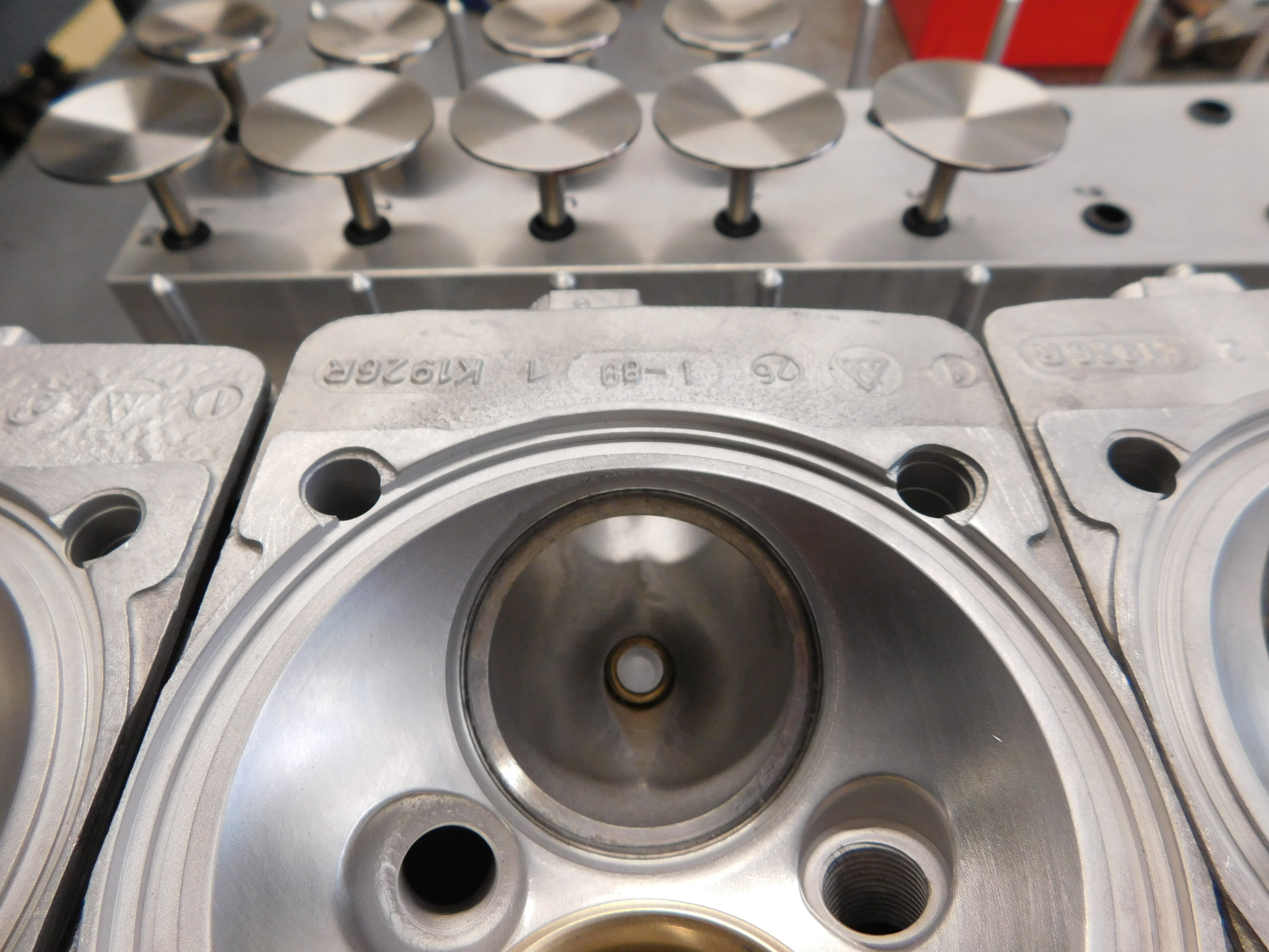 Porsche 911 Type Air-Cooled Cylinder Head Rebuilding